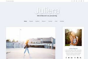 Juliera - Wordpress Theme Feminine