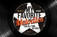 Vinyl Records, Vector