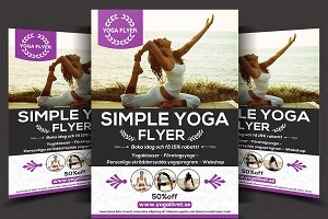 Simple Yoga Flyer