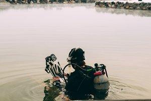 Lake Diving