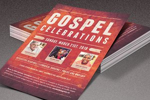 Gospel Celebrations Church Flyer