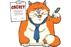 Cat offers credit