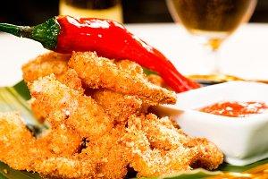 buffalo shrimps
