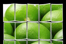green fresh lime
