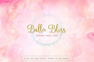 Bella Bliss Premade Logo