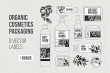 ORGANIC cosmetics Packaging