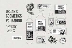 ORGANIC cosmetics Packaging