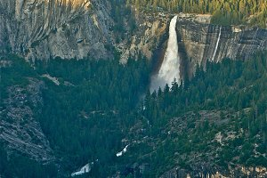 Merced Giants, Nevada & Vernal Falls