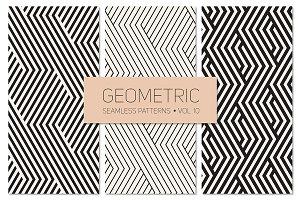 Geometric Seamless Patterns Set 10