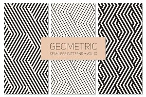 Geometric Seamless Patterns Set 10