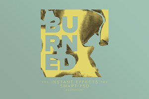 Burned Smart PSD Vol. 2