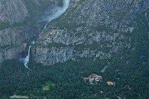 Yosemite Falls Park Glow