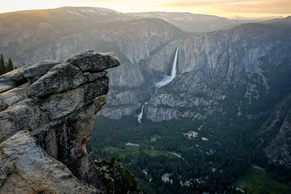 Angelic Rest and Yosemite Falls