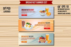 Breakfast Banners
