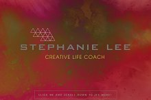 Stephanie Lee Premade Logo