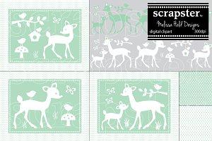 Deer Graphics & Clipart