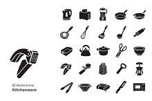 Kitchenware vector icons