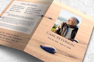 Memorial Program | Sand & Stone