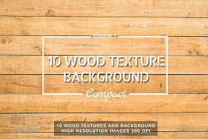 10 Wood Textures Compact Set Vol.1
