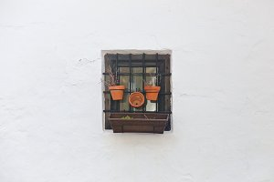 A window in Ronda