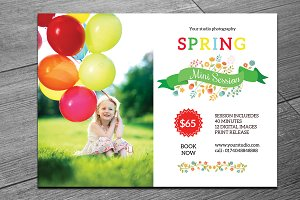 Spring Mini Session Template-V222