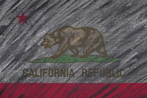 California flag.
