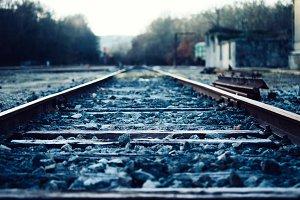 blue rails