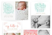 Pastel Dreams 5x7 WHCC Cards