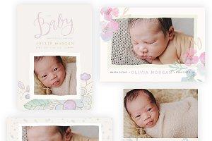 Pastel Baby 5x7 WHCC Cards