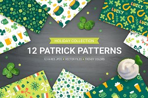 12 St. Patrick's Day Patterns