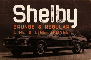 Shelby Typeface