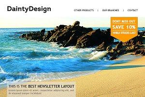 Multifunctional Business ENewsletter