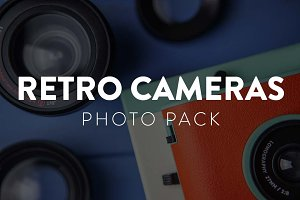 Retro Cameras Photo Pack