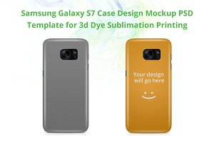 Galaxy S7 3d IMD Case Mock-up