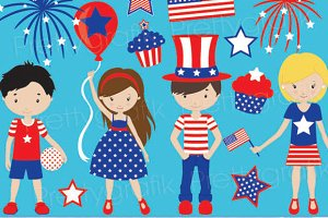 independence day clipart commercial