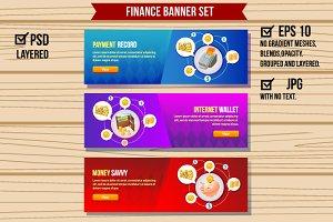 3 Web Finance Banner