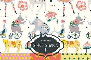 Stage-Struck Pattern Collection I