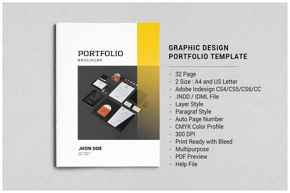 Indesign Portfolio Brochure - Vol. 3 - Brochures