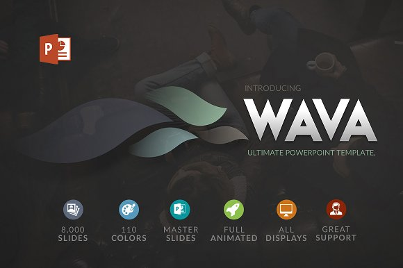 50 powerpoint ideas to inspire your next presentation creative wava powerpoint template toneelgroepblik Images
