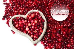 collection photos - cranberries