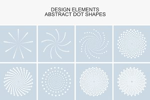 Dotted design elements.