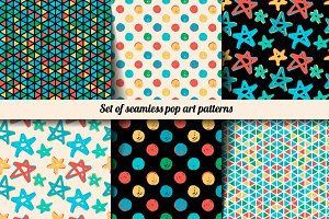 Pop art patterns