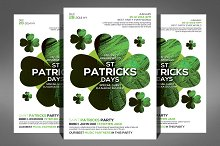 Saint Patricks Party Flyer Template