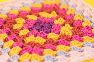Bright Granny Square