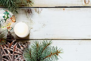 Christmas composition background