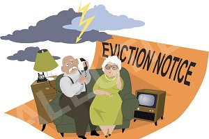 Evicted seniors