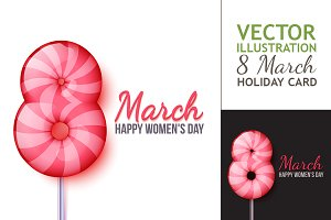 International Womens Day. Lollipop 8