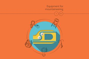 Mountaineering equipment. Ascender