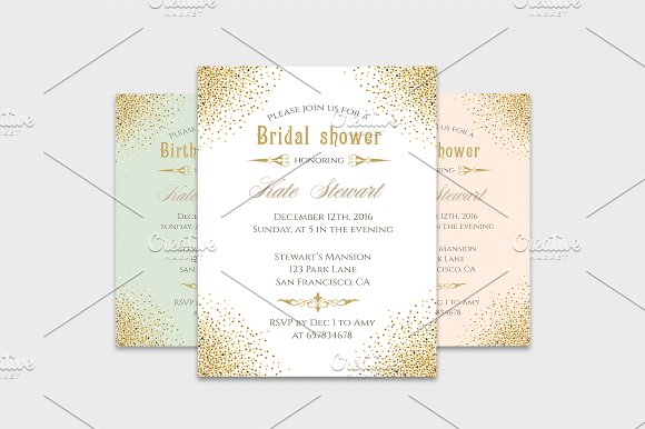 gold glitter invitation templates invitation templates creative