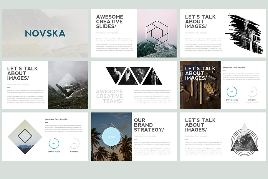 Novska modern powerpoint template presentation templates previous toneelgroepblik
